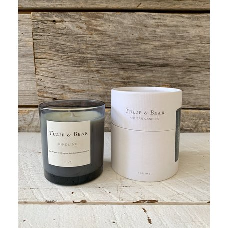 Tulip & Bear Kindling Candle