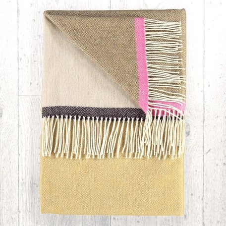 SALE! Jessie Qinel Throw- Twig
