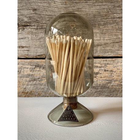 Cloche Smoke Match Jar - Skeem Design