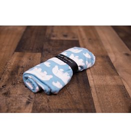 Sweet Bamboo Polar Bear Swaddle Blanket