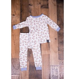 Sweet Bamboo Blue Cowboy 2pc Pj Set