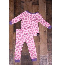 Sweet Bamboo Pink Cowgirl 2pc PJ Set