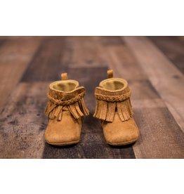 Laura Ashley Camel Fringe Boot