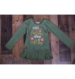 Haven Girl Leaves are Falling Autumn is Calling Tunic