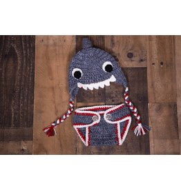 Baby Shark Crochet Set