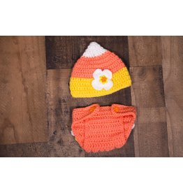 Candy Corn Crochet Set