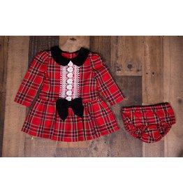 Bonnie Baby Plaid Red Dress