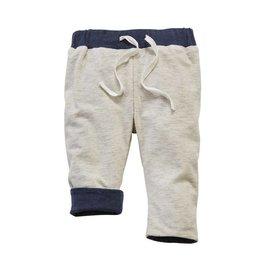 Mud Pie Grey Reversible Pants