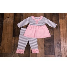 Three Sisters Teddy Bear Applique Legging Set