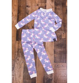 Sweet Bamboo Unicorn PJ 2 Piece Set