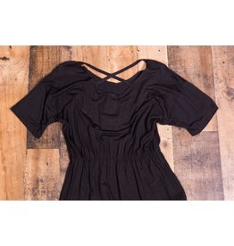 Little Mass Black Knit Dress