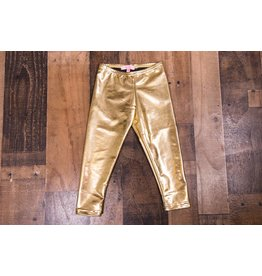 Haven Girl Metallic Gold Leggings