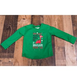 Wyldson Santa Please Bring me and Dinosaur Shirt