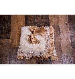 Cuddle Couture Cream Coco Vintage Blanket