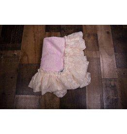 Cuddle Couture Vintage Receiving Blanket
