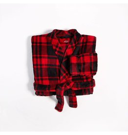 Petit Lem Crazy Cabin Plush Robe
