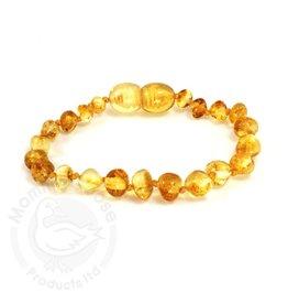 Momma Goose Lemon Amber Teething Bracelet (Baby)