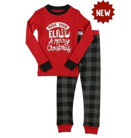 Petit Lem Elf Kid's Pajama Set