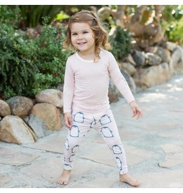 Bestaroo Pink Penguin Pajama Set