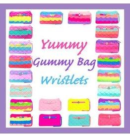 American Jewel Yummy Gummy Tie Dye Wristlet