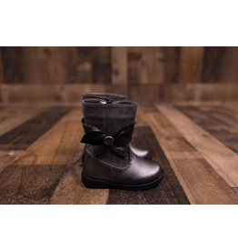 Laura Ashley Pewter Boots