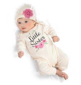 Tesa Babe Ivory Little Sister Romper
