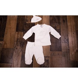 Kushies Classic Silk Cloud Set (Cream)