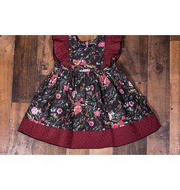 Mustard Pie Winter Floral Alice Dress