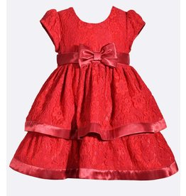 Bonnie Jean Red Lace Dress