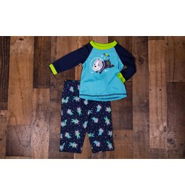 Little Me Space Dog Pj Set