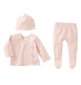 Mud Pie Pink Kimono Take Me Home Set
