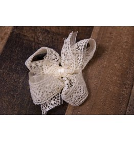 Beyond Creations Organza Lace Bow