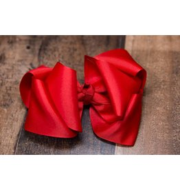 My Little Lady Bug Red Large Bow