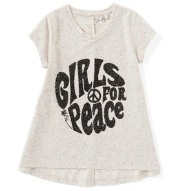 Jessica Simpson Girls For Peace Tunic Top