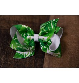 Wee Ones Medium Leaf Overlay Bow