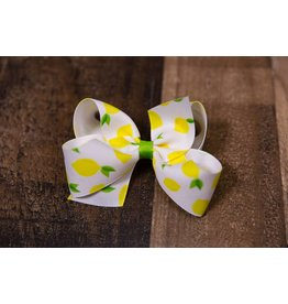 Wee Ones Medium Lemon Hairbow