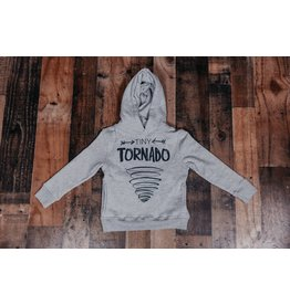 Crumb Snatcher Tiny Tornado - Heather Grey