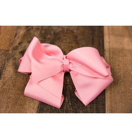 My Little Lady Bug Pink Large Bow