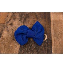 Stevie J's Chandler Nylon Solid Headwrap Royal