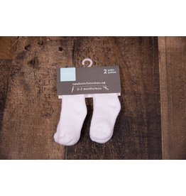 Terry Socks - White solid