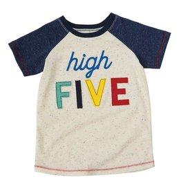 Mud Pie High Five Birthday Shirt