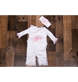 NICK AND NELLIE Morgan Romper & Hairband