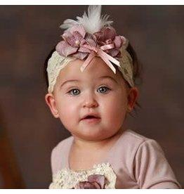 Frilly Frocks Anna Belle Lavender Headband