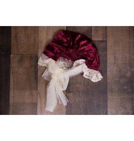 Frilly Frocks Victoria Velvet Bonnet