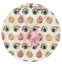 """Jane Marie 14"""" Flamingo With Pom Necklace"""