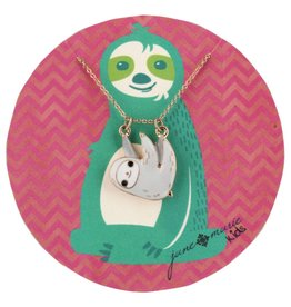 "Jane Marie 14"" Sloth Necklace"