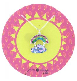 "Jane Marie 14"" Rainbow Cloud Necklace"