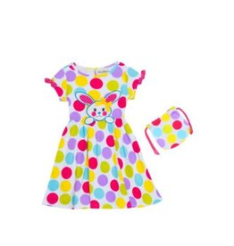 Rare Editions Polka Dot Bunny Dress