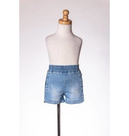 MLKids Denim Shorts With Lace On The Side