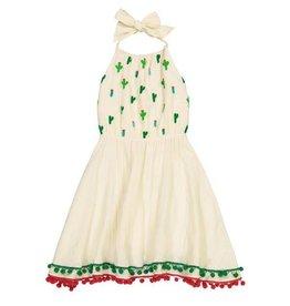 Masala Baby Island Halter Dress Cactus